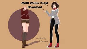 TDA Winter Outfit (DL DOWN) [100+ watchers GIFT] by MMDLauren