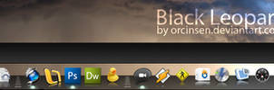 Black Leopard 3D Dock v.1.1