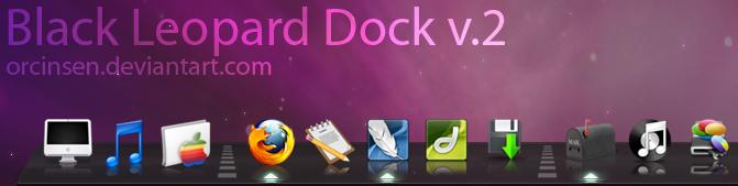 Black Leopard 3D Dock v. 2.1 by orcinsen
