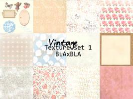 Vintage texture set 1 by BLAxBLA