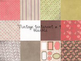 Vintage texture set 4 by BLAxBLA