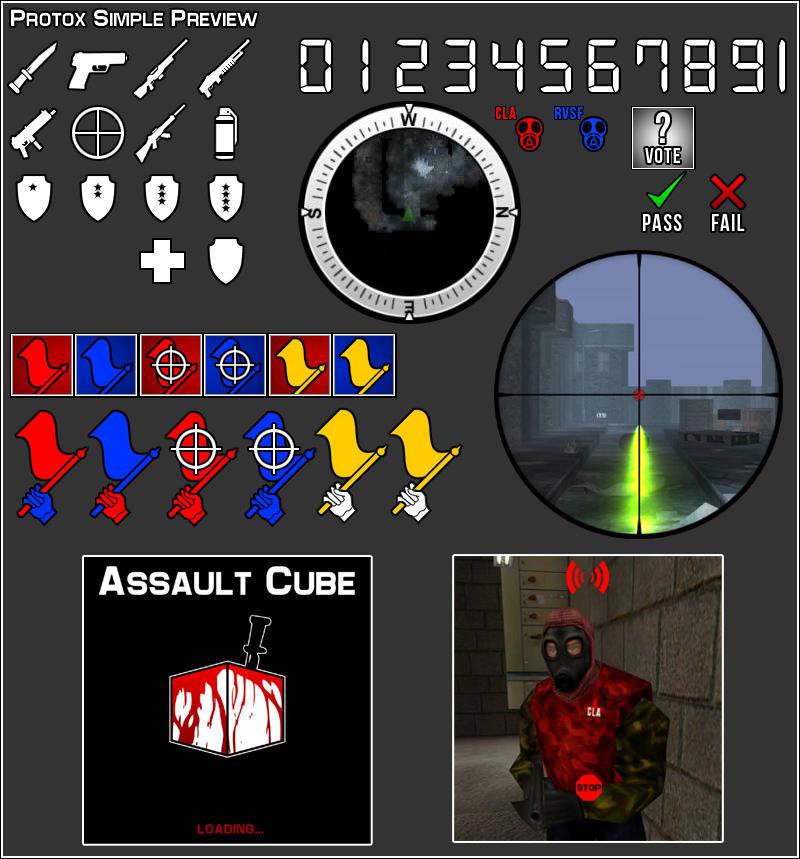 AssaultCube Protox Simple by PrimoTurbo