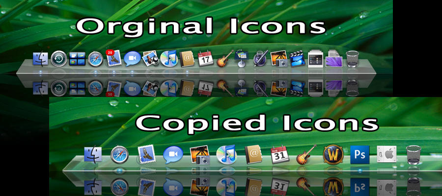Reflective Iconset 1 by schmrom