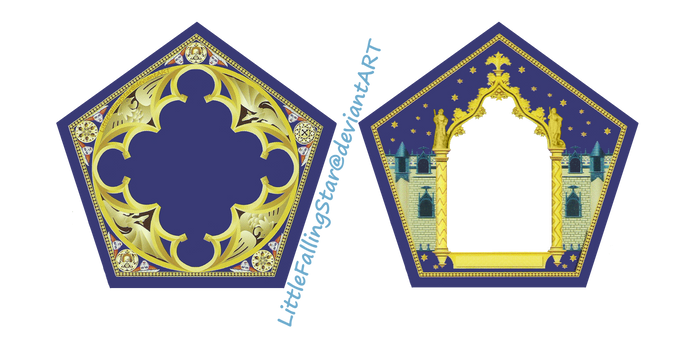 Chocolate Frog Card by LittleFallingStar