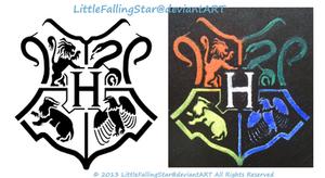 Hogwarts stencil