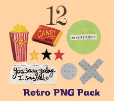 1960s Retro PNG Pack by desperatedeceit