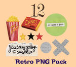 1960s Retro PNG Pack
