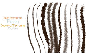 Sixth Symphony 11 Drawing Brushes by desperatedeceit