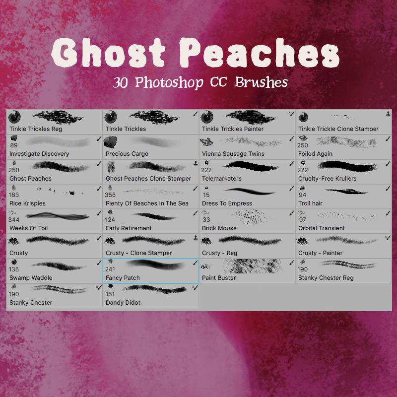 Ghost Peaches by desperatedeceit