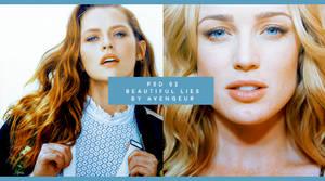 PSD 02 : Beautiful lies (Updated) by avengeur