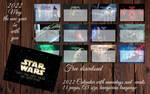 Star Wars A5 Calendar