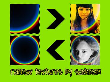 Rainbow Textures - 1 by sadiebabi