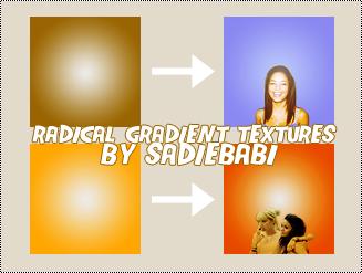 Radical Gradient Textures - 2 by sadiebabi