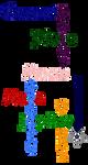 Senshi Group Glitter by Avalonanon
