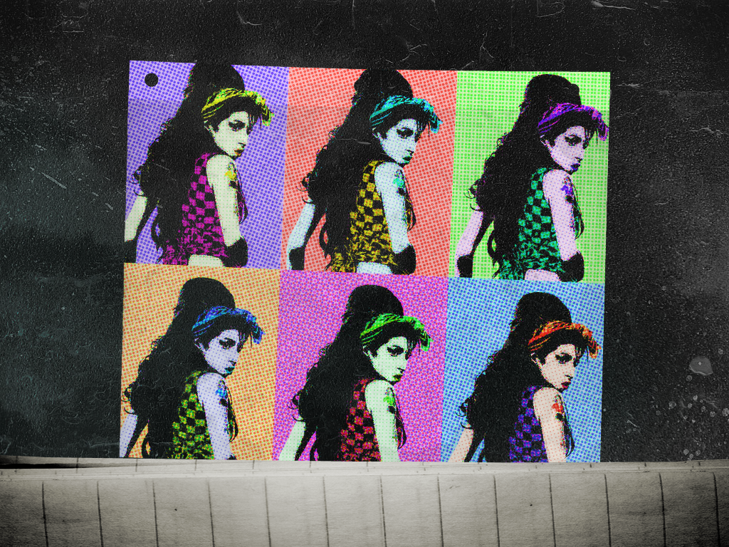 amy winehouse wallpapersgrimasse on deviantart