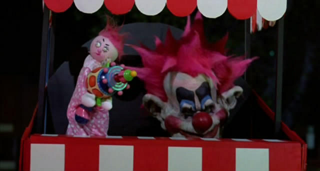 How a Killer Klown laughs
