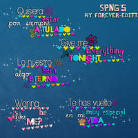 Pngs Frases Nuevos by Forever-editt