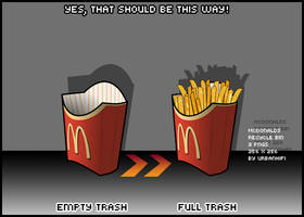 McDonald's Recycle Bin by urbanhifi