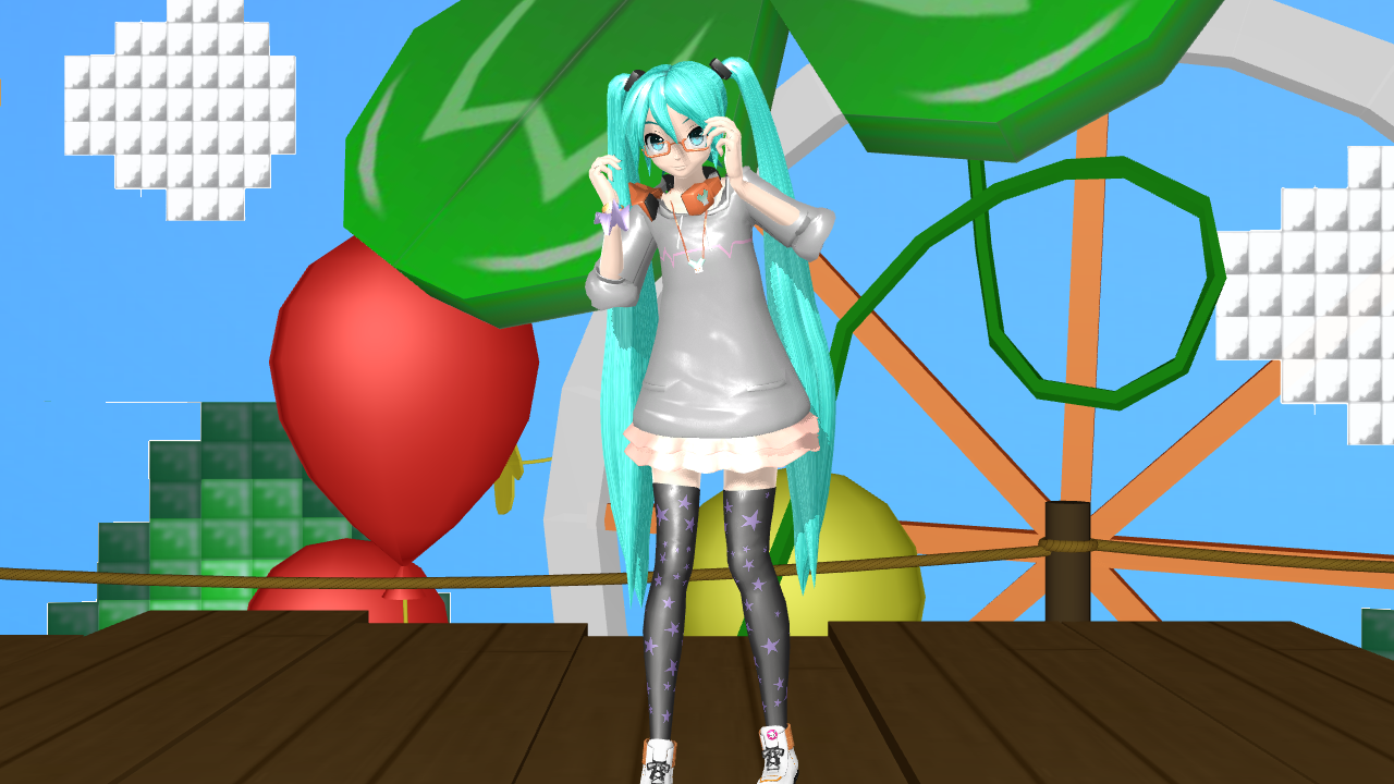 .:DT Stroll Style Miku:. + DL