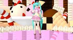 .:DT Princess Miku (update):. +DL