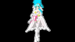 [50 Watchers Gift] DT Wedding Dress Miku +DL