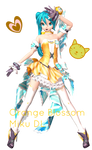 .:DTxPDF Orange Blossom Miku + DL:.