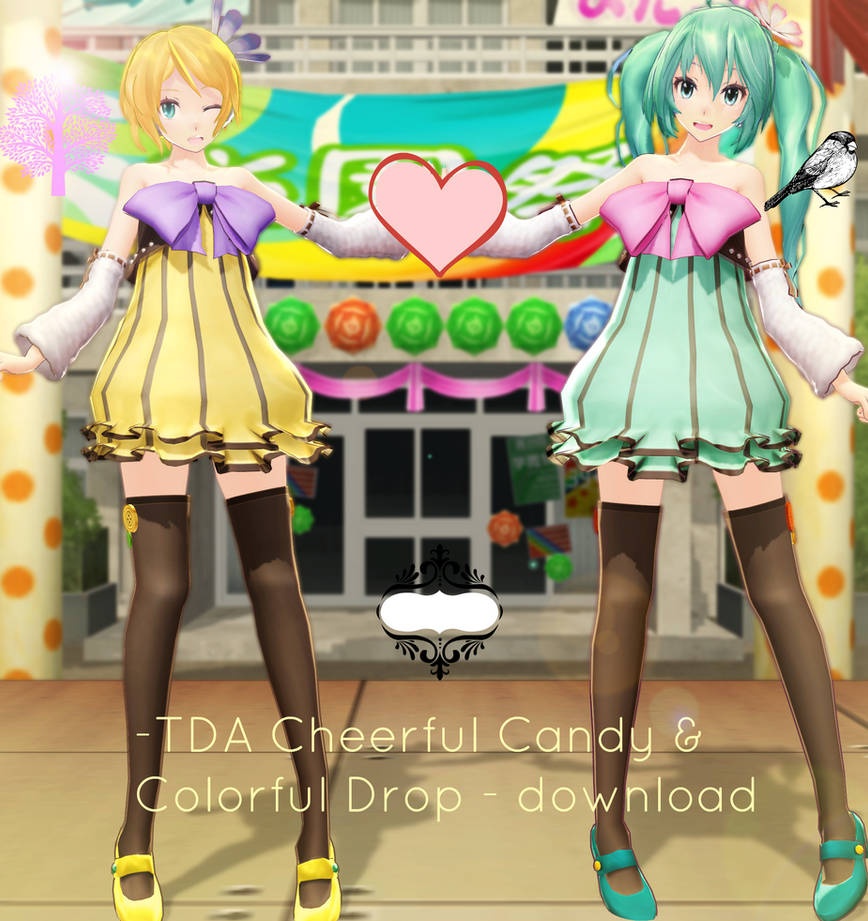 [450 Watchers gift]TDA Colorful x Melody models DL by Sushi-Kittie