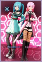 -TDA Miku Avantgarde and Luka Successor DL- by Sushi-Kittie