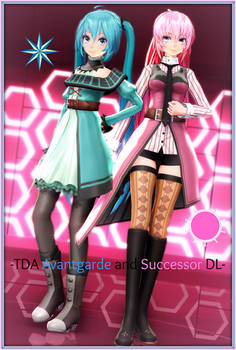 -TDA Miku Avantgarde and Luka Successor DL- by Sushi-Kittie