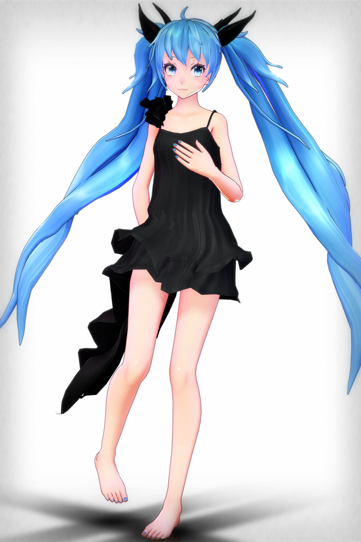 [No Occasion Gift].:TDA Deep Sea Miku DL:. by Sushi-Kittie