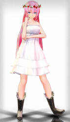 . : TDA Chiffon Dress/JBF Luka download : . by Sushi-Kittie