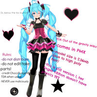 .:TDA out of the gravity Miku v1 download:.