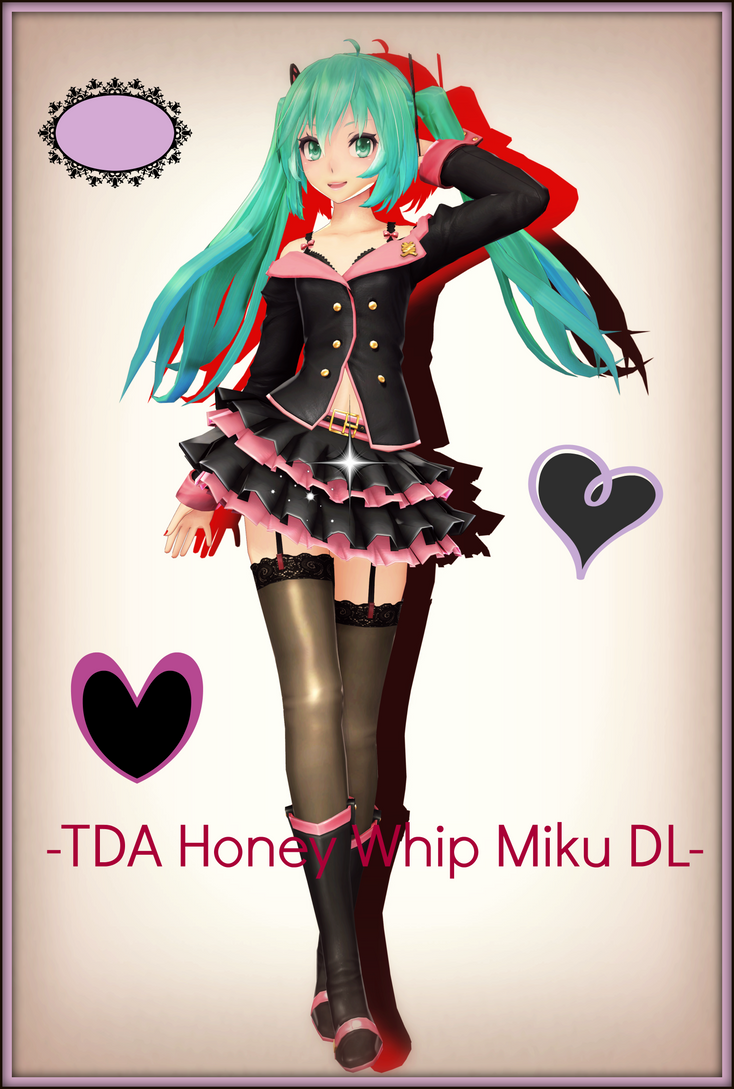 [600 Watchers Gift].:TDA Honey Whip Miku DL:. by ChocoFudge98