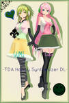 . : TDA Happy Synthesizer Luka and GUMI dl : .