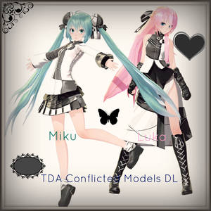 . : TDA Conflicted Luka and Miku DL : .