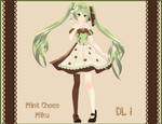 . : Tda Mint Chocolate Miku DL : .