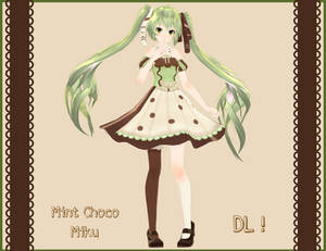 . : Tda Mint Chocolate Miku DL : .