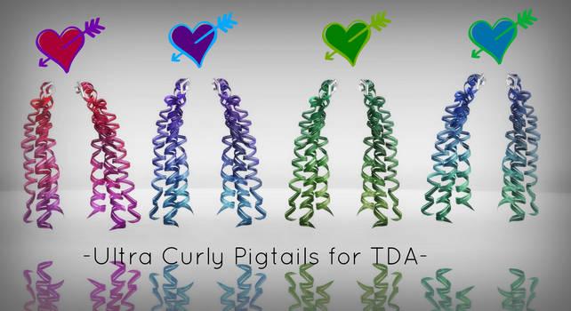-Ultra Curly Pigtails for TDA DL- (compensation)