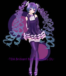 .:TDA Beauty Medley/Brilliant Butterfly Miku +DL:. by Sushi-Kittie