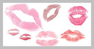Ewanism: Kiss Brushes by ewanism