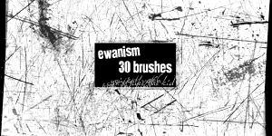 Ewanism Brushes- Scratchy by ewanism