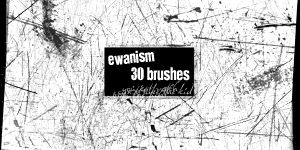 Ewanism Brushes- Scratchy