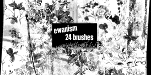 Ewanism Brushes- Pretty Grunge by ewanism