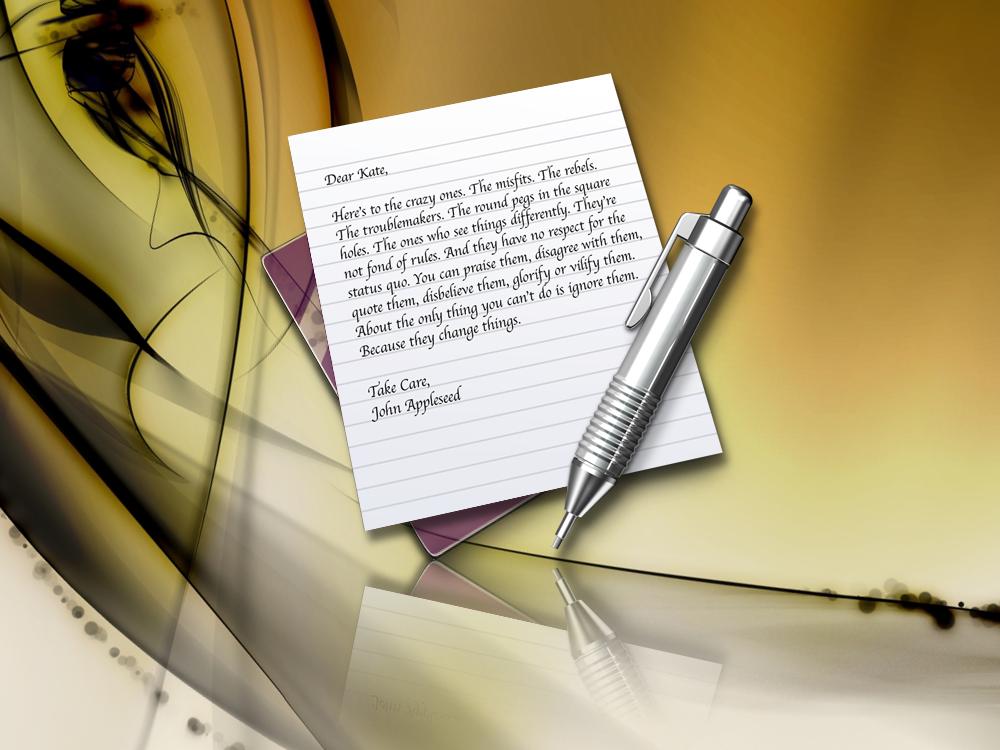 Purple Glass Text Edit Icon by Drawder