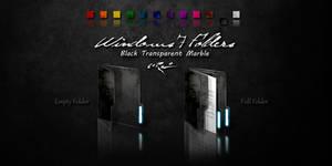 Black Windows 7 Folders