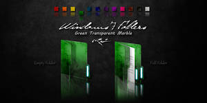 Green Windows 7 Folders