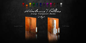 Orange Windows 7 Folders