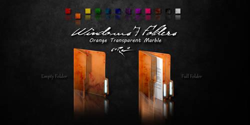 Orange Windows 7 Folders