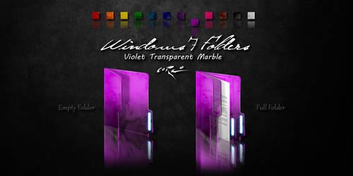 Violet Windows 7 Folders