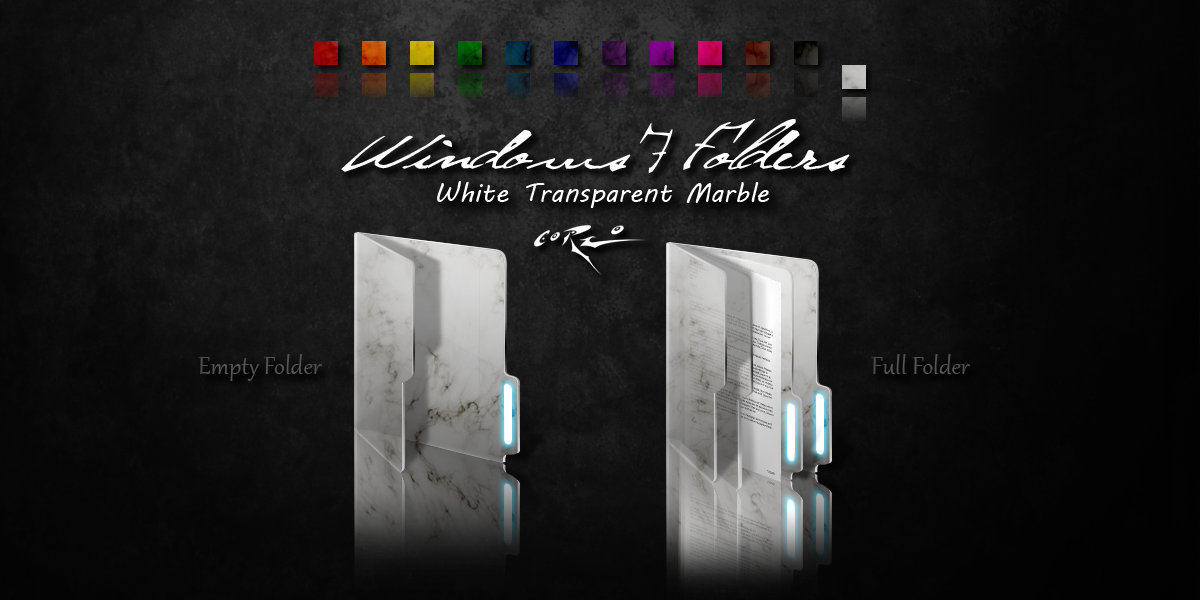 white windows 7 folders by drawder on deviantart